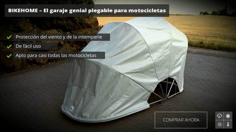 garaje portatil moto | bikehome