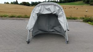 Folding Motorbike Shelter