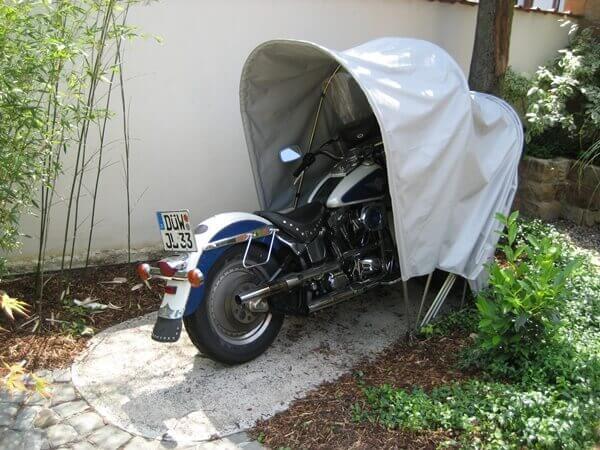 BIKEHOME garage moto pliable