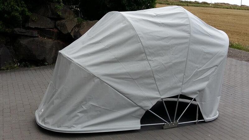 garage per moto portatili BIKEHOME